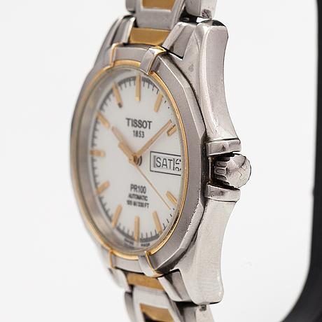 Tissot, pr100, 100, wristwatch, 38 mm.