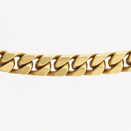 Halskedja 18k guld vikt 114 gram.