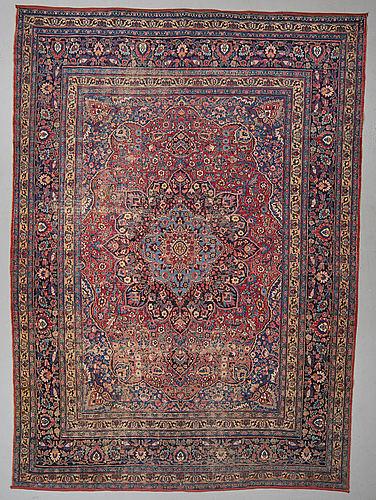 Matto, antique khorasan, ca 373 x 270 cm.