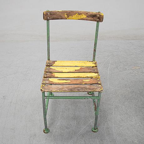Gunnar asplund, ten garden chairs, iwan b. giertz, flen, sweden.