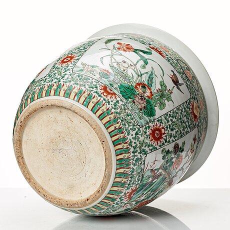 Ytterfoder, porslin. sen qingdynasti, omkring 1900.