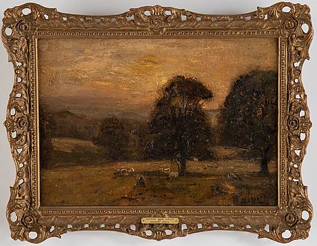 Herbert f. royle, oil on canvas, signed.
