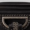Christian dior, a leather bag.