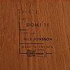 "Nils jonsson, bokhylla, ""domi 13"", bra bohag, troeds."