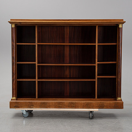 A first half of the 20th century mahogany book case.
