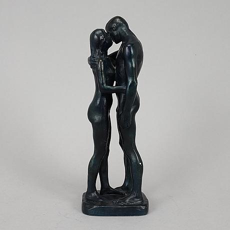 Gudmar olovson, sculpture, plaster, signed.