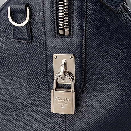 Prada, saffiano leather weekend bag, 2016.