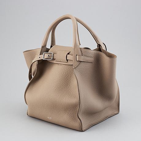 Céline, a 'big bag' leather handbag.