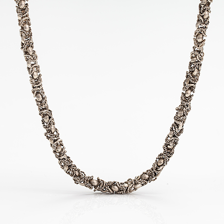 Halsband, silver.