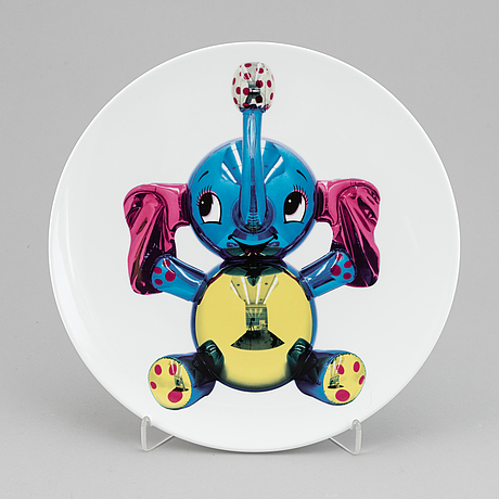 Jeff koons, plate/multiple, 790/2500.