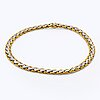 Necklace 18k gold and whitegold 215 single-cut diamonds approx 4,3 ct, total weight 156 g.