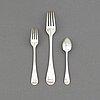 A silver cutlery service, gab, stockholm, 1931-34. (34 pieces).