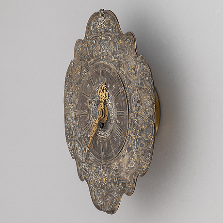 Wall clock, 18th century and later.