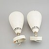 A pair of asea wall lights, model 2625, second half of the 20th century.