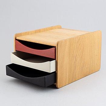 Børge Mogensen, an oak 'A4/3' box for documents for AB Karl Andersen & Söner.