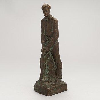 Kalervo Kallio, a bronze sculpture, signed and dated 1948.