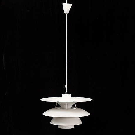 A 'charlottenborg' ceiling light by ebbe christensen, sophus frandsen and poul henningsen for louis poulsen, denmark.