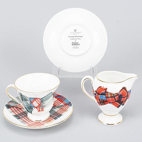 Vivienne westwood, a porcelain tea set.