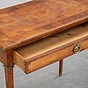 Table, gustavian style, first half of the 20th century.