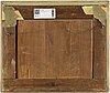 Unknown artist, around 1800, oil on paper-panel.