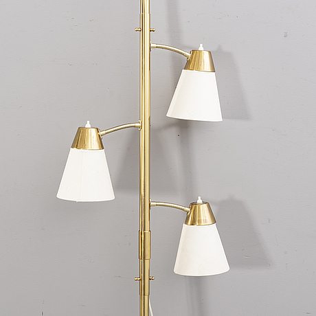 Lampa sk pole-lamp 1900-talets mitt/andra hälft.