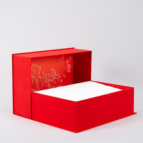 Jordi arkö, portfolio with 105 lithographs in colours by jordi arkö.