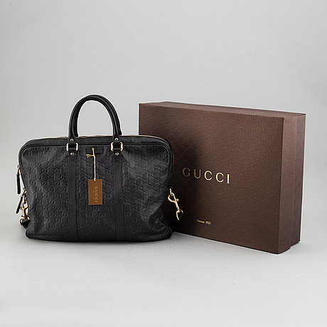 Gucci, datorväska/väska.