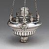 Jevstafij silantiev, lampukka, hopeaa, pietari, venäjä 1839.