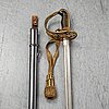 A swedish cavalry officer's sword 1893 pattern.