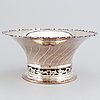 A swedish silver bowl, k anderson, stockholm 1928.