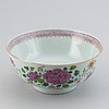 A famille rose punch bowl, qing dynasty, qianlong (1736-95).