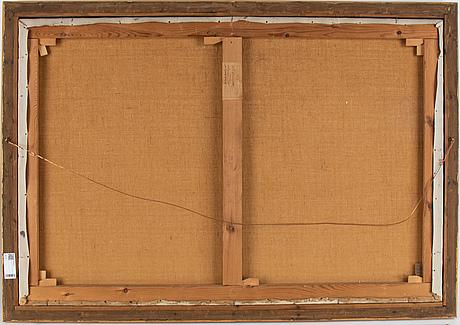 Gottfrid kallstenius, olja på duk, signerad och daterad 1921.