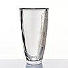 Simon gate, an engraved glass vase, orrefors, sweden 1947, engraved by arthur diessner.