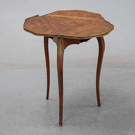 Klaffbord, louis xv-stil, frankrike, omkring 1900.