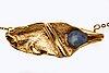 Opal necklace, 18l golöd w 1 opal apprpx 10 x 7 mm, firma rosenkvists guldsmedsaffär malmö.