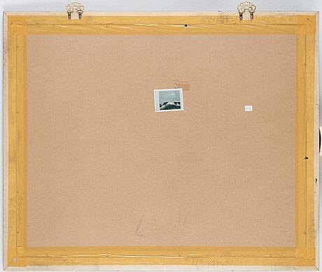 Zhao zhunwang, född 1944, färg och tusch på papper.