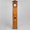 A french mid 18th century louis xv longcase clock.