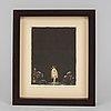 John bauer, litografi, 1915, signerad i trycket.