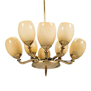 Paavo Tynell, a mid-20th century '1382' chandelier for Idman.