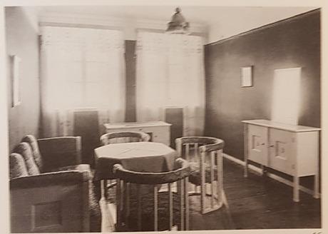 Eliel saarinen, skänk, 1918.