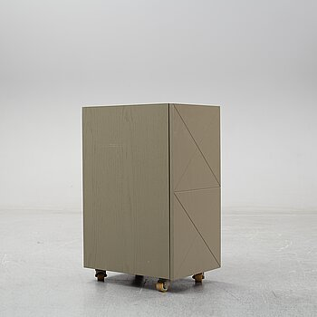 Note Design Studio, a cabinet, Custom made for Hidden Tints; made by Lerch Snickeri & Inredningar.