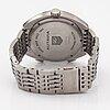 Tag heuer, autavia, wristwatch, 43 mm.