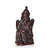 Figurin, kopparlegering. tibet.