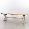 LÅngbord, allmogestil, modern tillverkning.