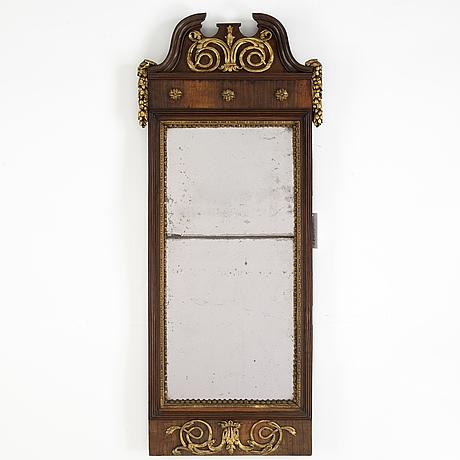 A danish louis xvi mirror, late 18th century.
