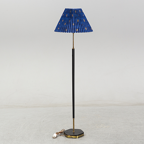 A floor lamp from the second half of the 20th century.