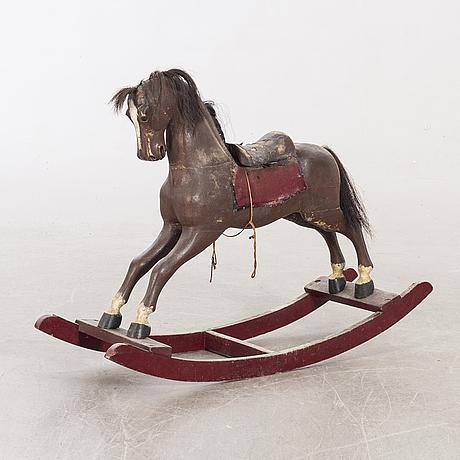 Gunghäst, slutet av 1800-talet.