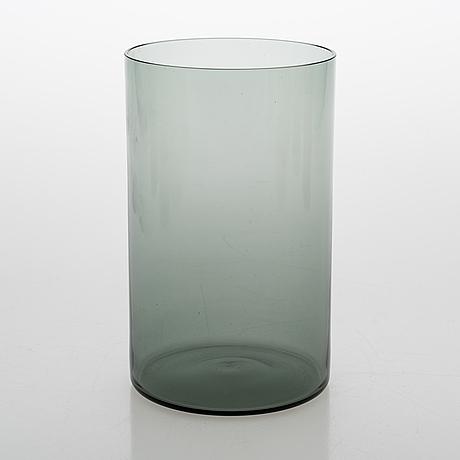 "A set of 9 glass jars ""purtilo"" by kaj franck arabia, finland. designed in 1970:s."
