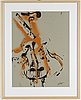 Fernandez arman, a colour lithograph, signed and numbered 19/125.