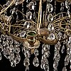 A gustavian style chandelier, second half of the 20th century,